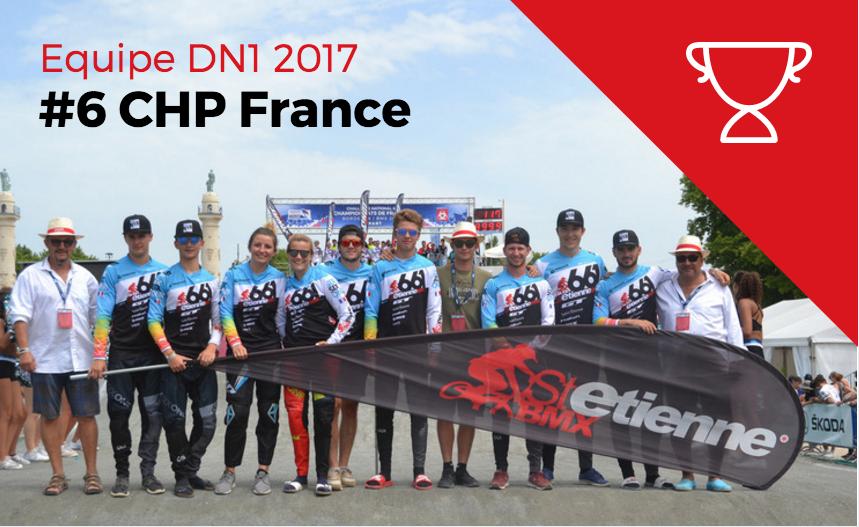 Equipe DN1 St Etienne BMX 2017
