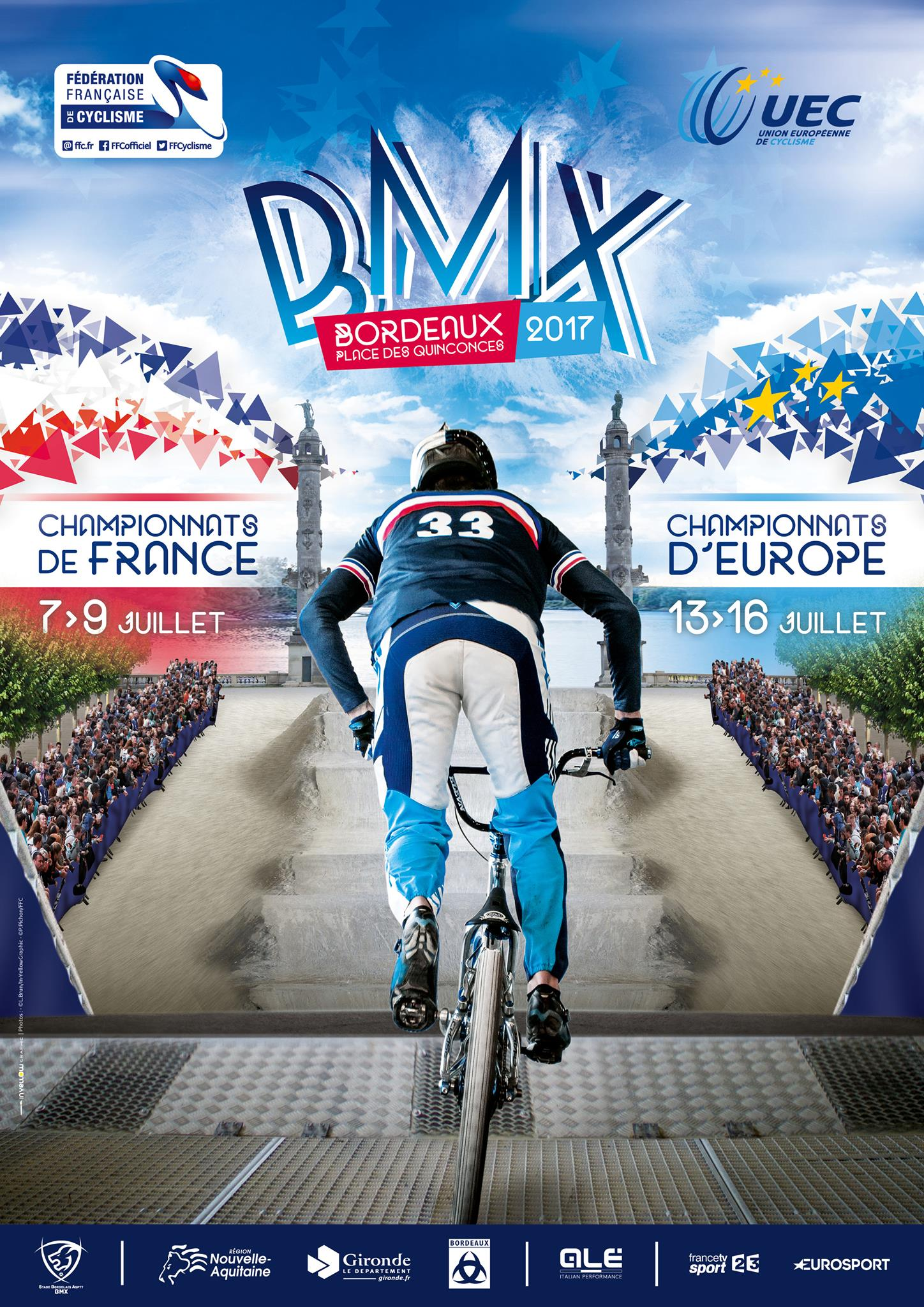 championnats bmx 2017 Bordeaux