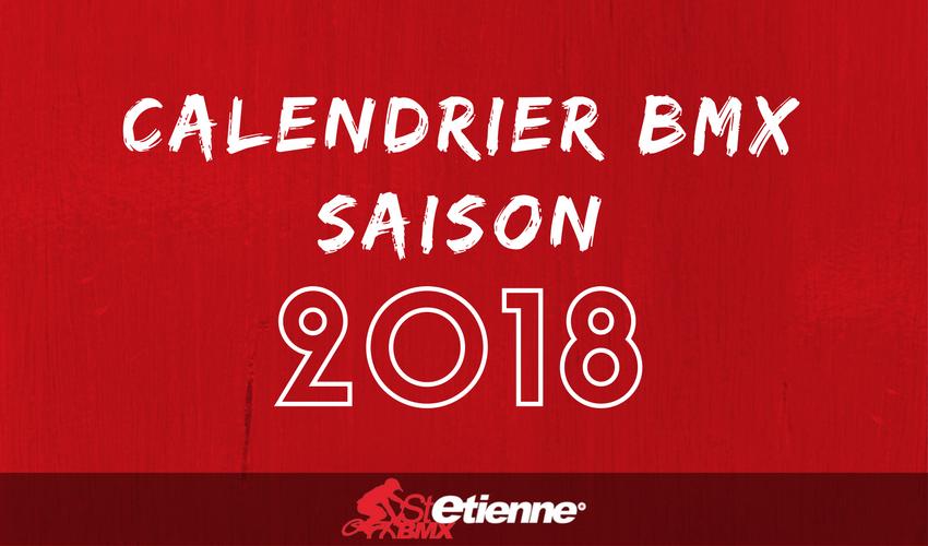 calendrier bmx saison 2018