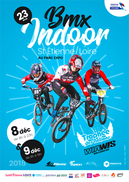 INDOOR SAINT ETIENNE BMX 2018