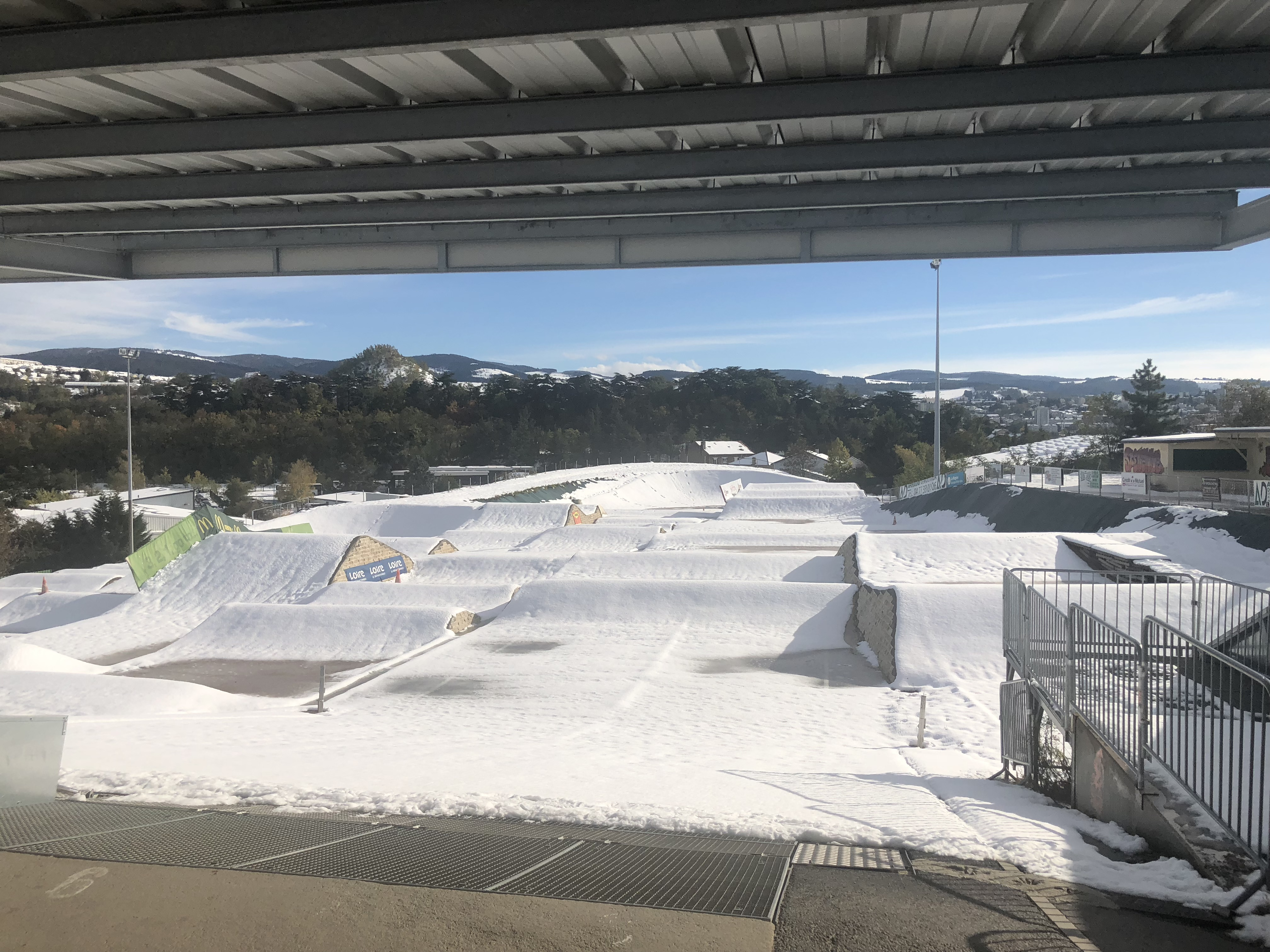 piste neige st etienne bmx